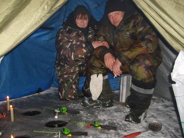 Рыбалка в палатки в марте 2016